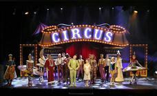 Emilio Aragón homenajea en Palencia a la gran familia del circo