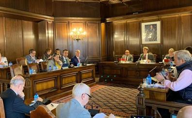 El PSOE en el ayuntamiento de Soria aprueba la subida del IBI al tipo del 0,56
