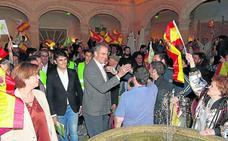 Ortega Smith presume en Segovia de que Vox «ha descolocado a los gurús políticos»