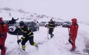 Abertis comienza a pagar los 165 euros a cada afectado por el colapso de la AP-6