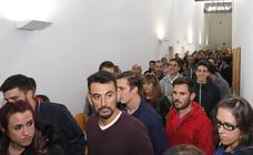 Comienzan las oposiciones más multitudinarias a policia local de Palencia