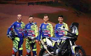 Sherco TVS presenta su equipo para el próximo Dakar en Arabia con el salmantino Santolino