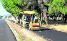 Fomento concluye las obras de mejora de la antigua travesía de Íscar