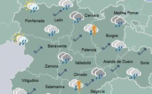 El fin de semana traerá lluvia y una baja de temperaturas a Valladolid