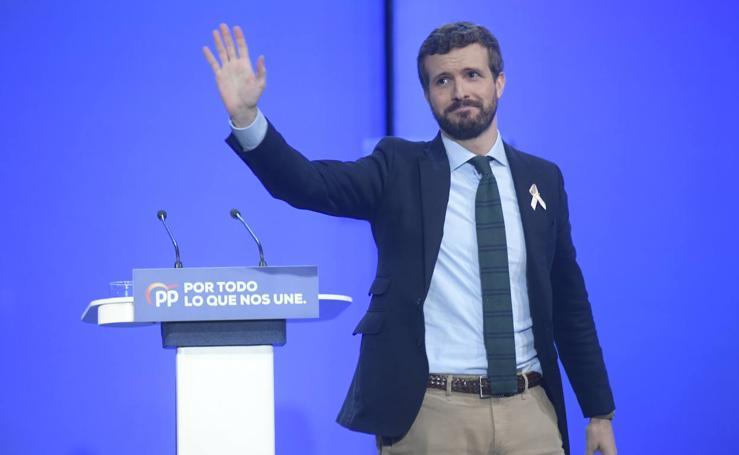 Pablo Casado participa en la Intermunicipal del PP celebrada en Valladolid