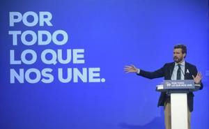 Pablo Casado, en Valladolid: «Cataluña nunca será independiente porque el resto de España no lo soportaría y la necesita»