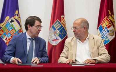 La sanidad rural y las 35 horas tensionan la gestión de los 100 días de Gobierno de Mañueco e Igea