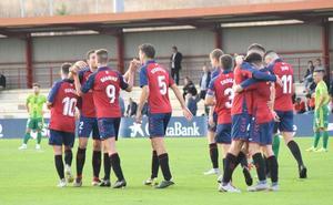 Unionistas no levanta cabeza y cae abatido ante el filial de Osasuna (2-0)