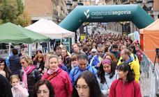 Marcha y carrera en favor del Banco de Alimentos de Segovia (2)