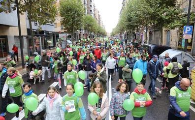La marcha contra el cáncer supera los 19.500 participantes