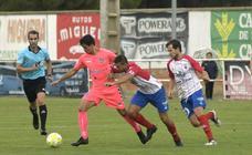 El partido entre la Gimnástica Segoviana y el Atlético Tordesillas