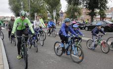 Bicicletada contra la droga en Laguna de Duero