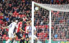 La suerte se puso del lado del Real Valladolid