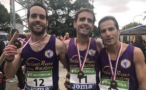Brillante campeonato de España de maratón para el Atletismo Macotera