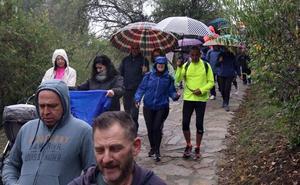 La solidaridad con el Banco de Alimentos de Segovia desafía a la lluvia y el frío