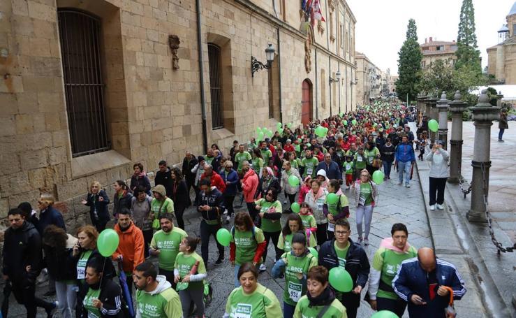 La marcha contra el cáncer, en imágenes