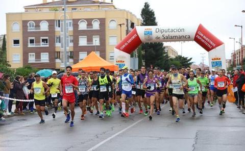 Dani Sanz y Gema Martín conquistan la 36ª Media Maratón de la Diputación de Salamanca