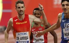 Álvaro de Arriba, en un selecto grupo de entrenamiento de la elite europea para preparar los Juegos de 2020