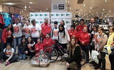El Corte Inglés de Salamanca y AVIVA entregan los premios a los ganadores del sorteo de la X Carrera de los 1.000 pasos
