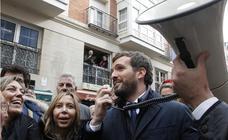 Pablo Casado visita su Palencia natal