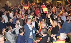 Ortega Smith cierra la campaña de Vox en Palencia