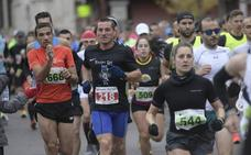 David García y Nerea Gambra, campeonas de la Media Maratón de Medina del Campo