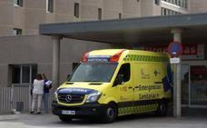 Herido un joven de 24 años en una colisión en el cruce de la CL-605 de Torredondo