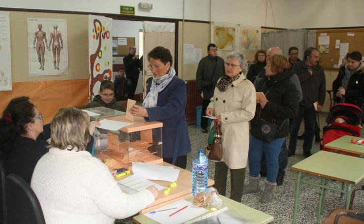 Votaciones en Nava de la Asunción, Cuéllar y los cuatro núcleos de El Espinar