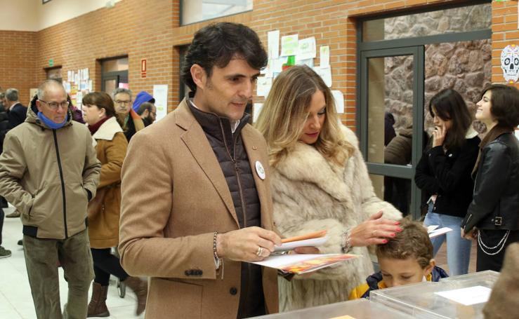 Votaciones en Palazuelos de Eresma y La Granja de San Ildefonso