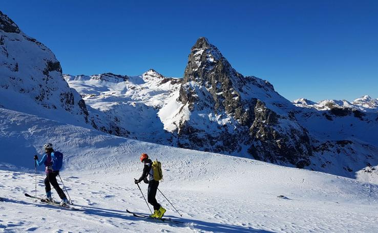 La montaña en invierno: un riesgo que hay que tratar de controlar