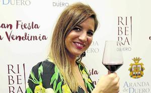 Lucía Jiménez: «Me declaro amante del buen vino de la Ribera del Duero»