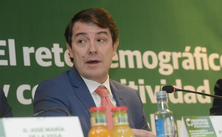Encuentros de El Norte con Alfonso Fernández Mañueco, presidente de la Junta de Castilla y León