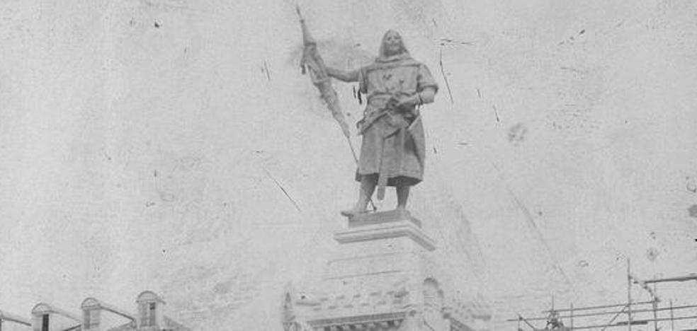 Valladolid salda su deuda con el fundador de la ciudad