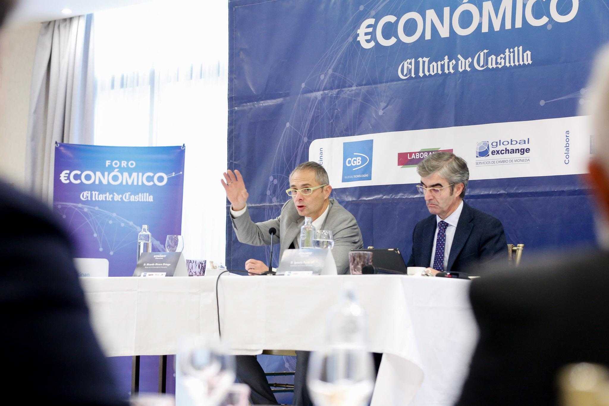 Foro Económico de El Norte con Ricardo Rivero
