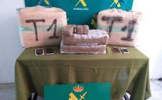 La Guardia Civil de Soria incauta 92 kilos de hachís en la operación «Rochelle» en Matalabreras