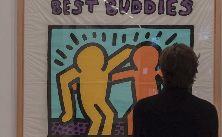 Exposición de Keith Haring en Valladolid