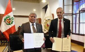 La USAL se une a tres universidades peruanas para crear la Cátedra Perú