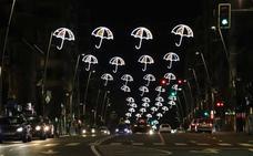 Encendido de la iluminación navideña en Salamanca