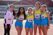 Control Provincial de atletismo de las categorías Sub10 hasta Máster en las Pistas del Helmántico