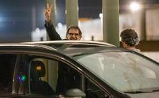 Jordi Cuixart sale de prisión en su primer permiso penitenciario