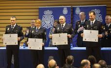La Policía Nacional de Valladolid celebra su 196 aniversario