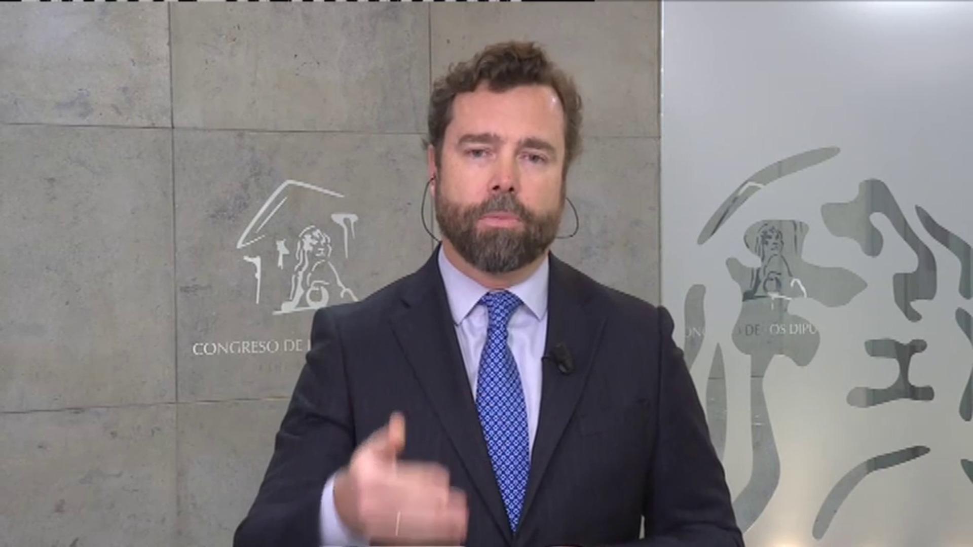 Espinosa de los Monteros defiende el PIN parental como herramienta educativa de los padres