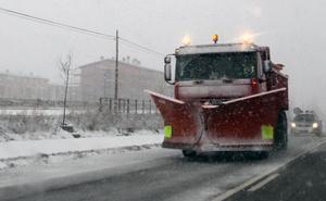 Activada la alerta por previsión de nevadas en León, Palencia y Burgos