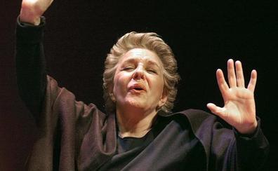 Lola Herrera interpretará 'Cinco horas con Mario' en la Casa de las Artes de Laguna