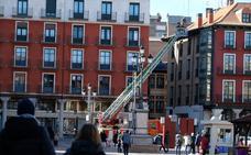 Los bomberos actúan en múltiples puntos de Valladolid por los efectos del viento