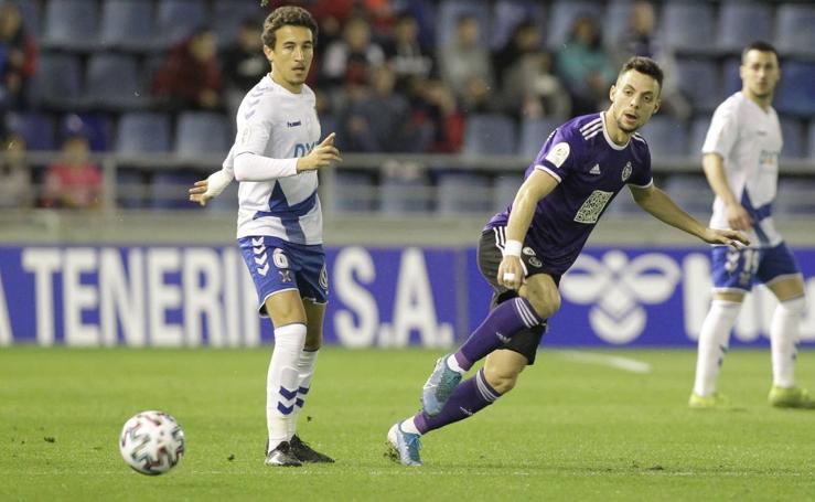 El Real Valladolid cae de la Copa en Tenerife (2-1)