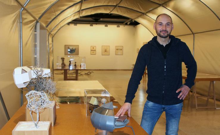 El proyecto 'Semillero de arte' en el Museo Esteban Vicente