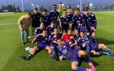 El Real Valladolid juvenil frena al intratable Real Madrid