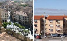 El precio del metro cuadrado en el casco histórico de Segovia triplica al de San José y El Palo
