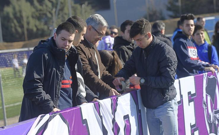 Día de las Peñas en el Real Valladolid
